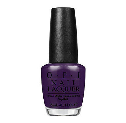 For glamorously gothic nails, OPI Vant to Bite my Neck (£11) is a beautiful rich dark purple. It would also work brilliantly on toenails.