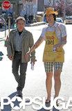 Adam Driver filmed with Ben Stiller.