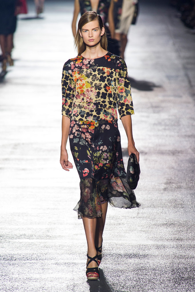 Dries Van Noten Spring 2014
