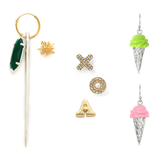 Accessory of the Week: Asymmetrical Earrings