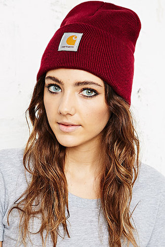 Carhartt Watch Beanie Hat in Red