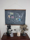 Chalkboard US Map