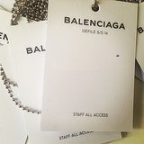 Balenciaga gave us full access to its show. Source: Instagram user _balenciaga
