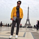 Brian Atwood's so major he makes the Eiffel Tower look small. Source: Instagram user brian_atwood