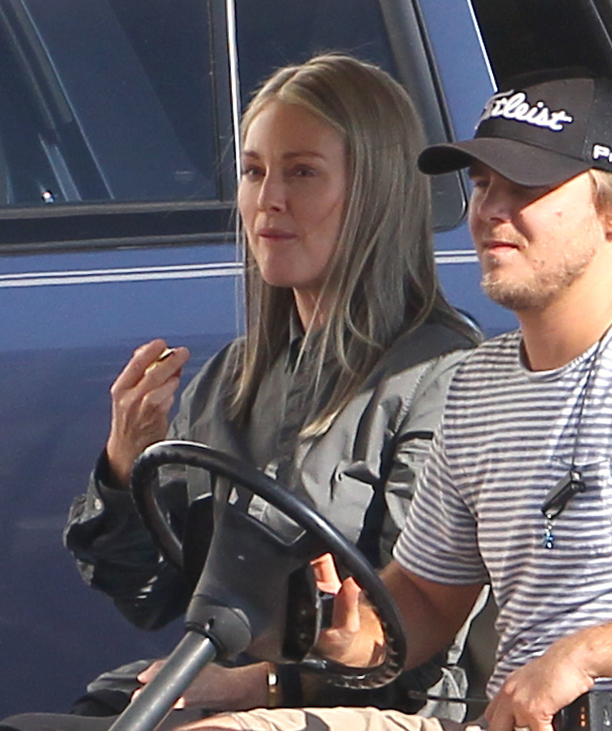 Julianne Moore showed up to the Mockingjay set with a full head of grey hair on Friday.