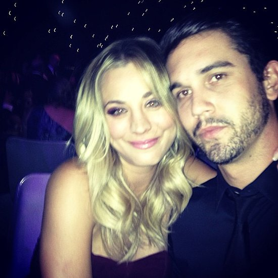 "On Emmys night, Ryan shared this photo with the caption: ""A million people, all I see is her."" Source: Instagram user Ryan Sweeting"