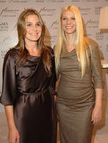 Gwyneth Paltrow was joined by Aerin Lauder to launch her fragrance, Pleasures, in LA in September 2006.
