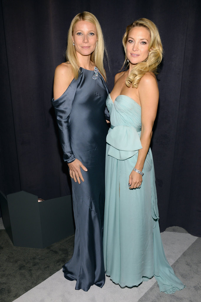 Gwyneth Paltrow and Kate Hudson buddied up at a Tiffany & Co. event in NYC in April 2013.