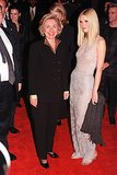 Gwyneth Paltrow walked the red carpet with Hillary Clinton for the premiere of Shakespeare in Love in December 1998.