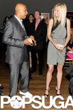 Gwyneth Paltrow and Russell Simmons had a moment at an NYC charity benefit in June 2011.