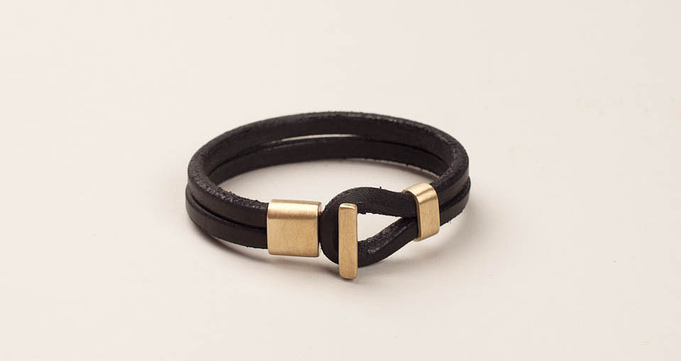 How does an accessory telegraph warmth? This Premium Wristband from Tanner Goods ($150) is made from rich black leather and a shiny brass that gives it a sense of heritage and weight straight out of the box. It's the kind of thing you can wear in Fall, Spring, and for years to come. — Justin Fenner, assistant editor