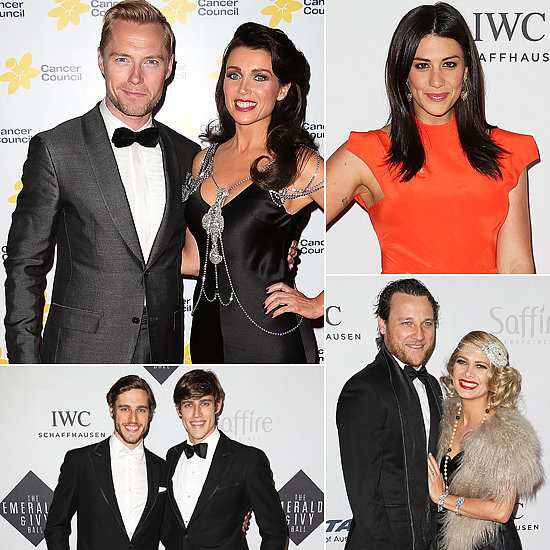 Aussie Stars Turn Up the Glamour at the 2013 Emeralds & Ivy Ball