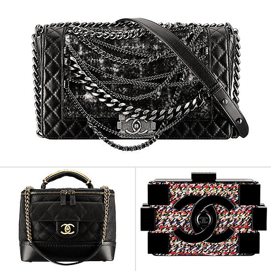 Is there anything better than a slideshow of the hottest Chanel bags of the Fall? Photo courtesy of Chanel