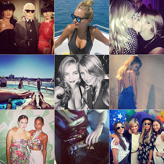 Fashion & Beauty Candids: Miranda's Girl's Night Out, Lara's Beach Body & More!