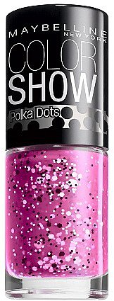 Maybelline Color Show Polka Dots Nail Lacquer Pretty In Polka