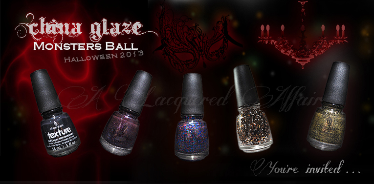 China Glaze Halloween 2013 Monsters Ball Collection