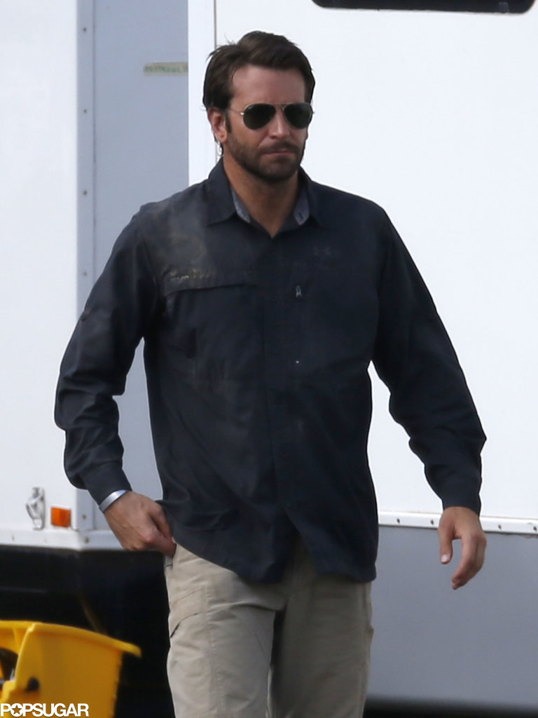 Bradley Cooper headed to the set during his Hawaiian vacation.