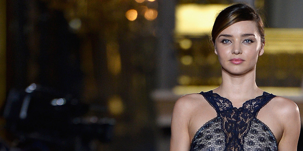 Miranda Kerr Returns to the Runway With Supermodel Support
