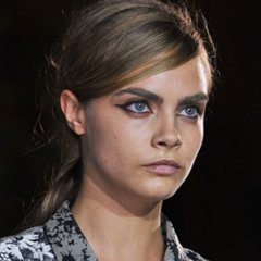 Hair and Makeup at Stella McCartney 2014 Paris Fashion Week