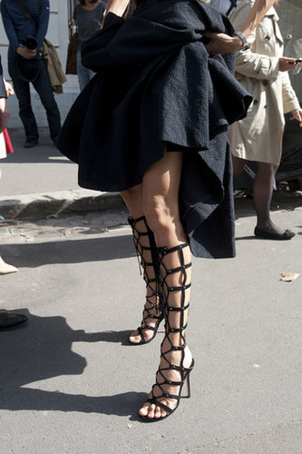 These heels weren't made as much for walking, as they were for turning heads.