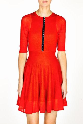 McQ Alexander McQueen Knitted Flirty Dress