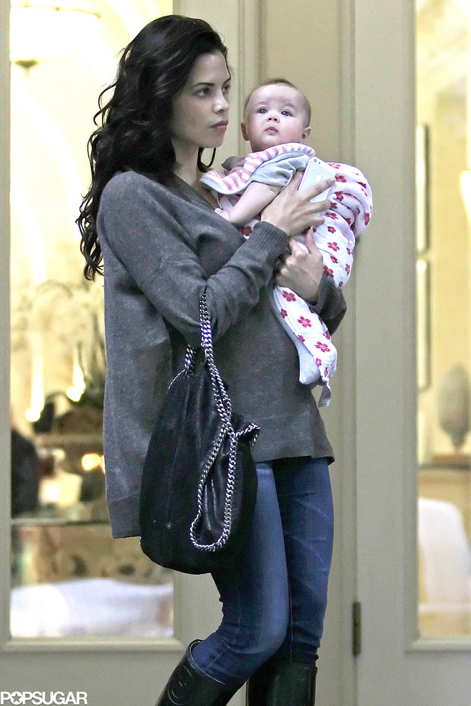 Jenna Dewan and Everly Tatum went out for a shopping day in Vancouver.