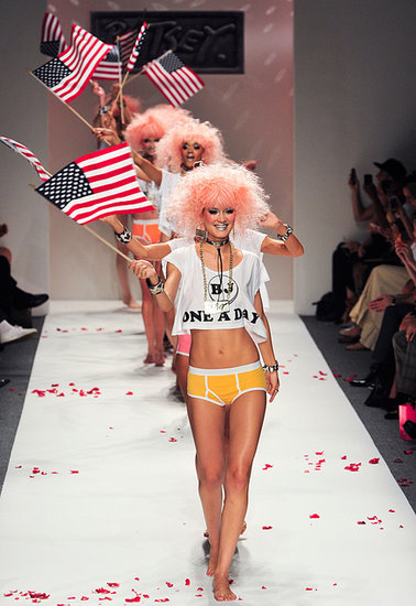 Betsey Johnson's Flag-Wavers