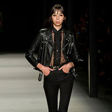 Saint Laurent Spring 2014: Distinctly Not Blurred Lines