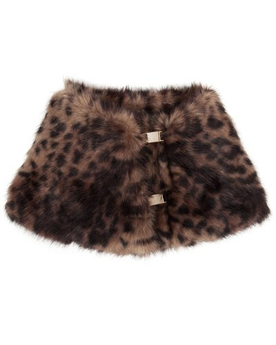 JULA Faux fur collar