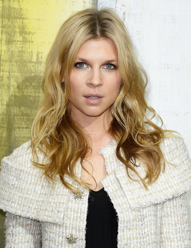 Clémence Poesy at Chanel Spring 2014.