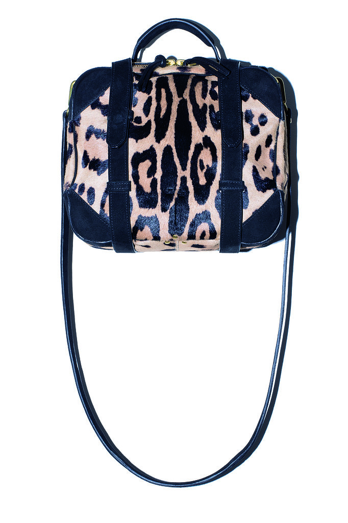 The Sam Bag in leopard calfskin Photo courtesy of Jerome Dreyfuss