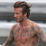 David Beckham in His Underwear For H&M Campaign