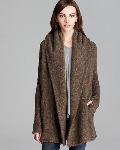 Vince Sweater Coat - Tweed