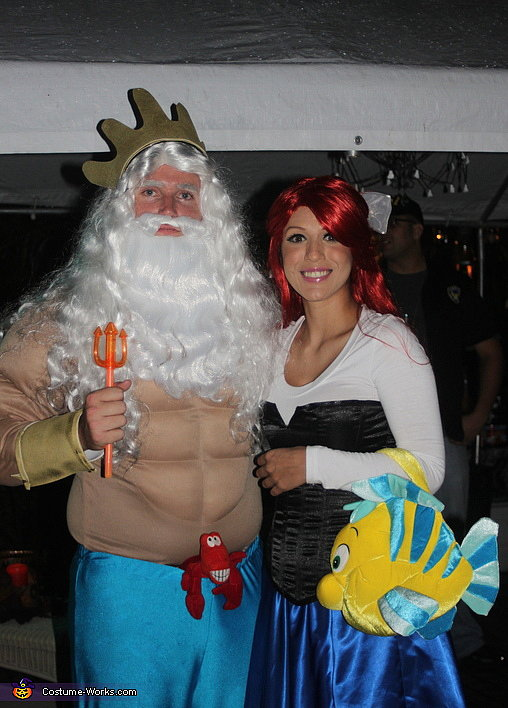 For Pairs: Ariel and King Triton