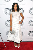 "Kerry Washington walked the red carpet at the ""She's Making Media"" panel at the Paley Center in NYC."