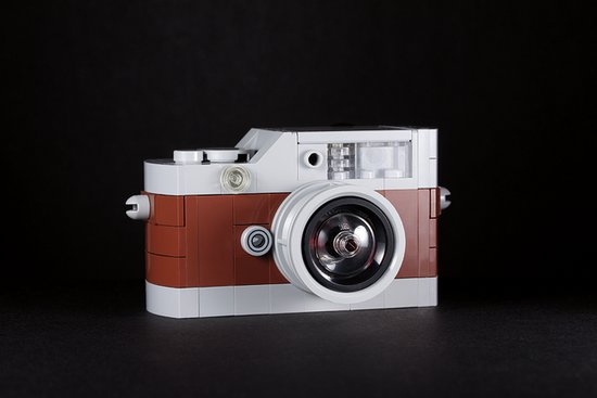 "A camera we once spotted in real life protected behind glass, the ""Mini Hermès Leica M9"" is luxury photography. Source: Mini Hermès Leica M9 (2013) © Chris McVeigh"