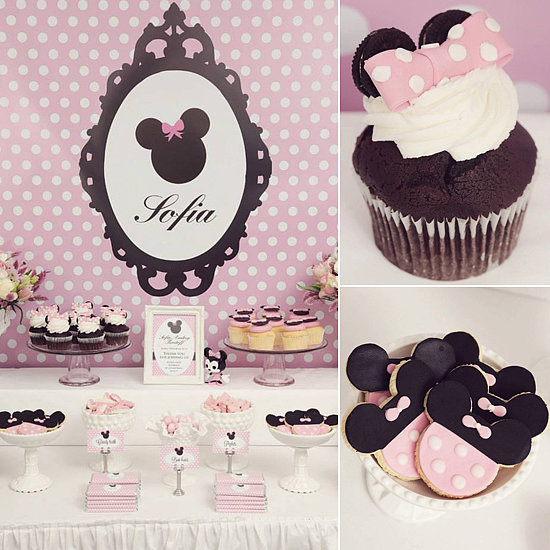 A Pretty in Pink Minnie Mouse Birthday Party