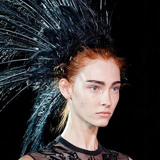 2014 Spring Paris Fashion Week: Louis Vuitton Runway Beauty