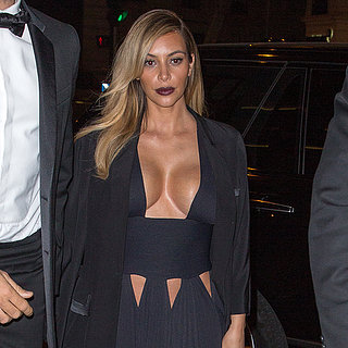 Kim Kardashian in Sexy Givenchy Dress