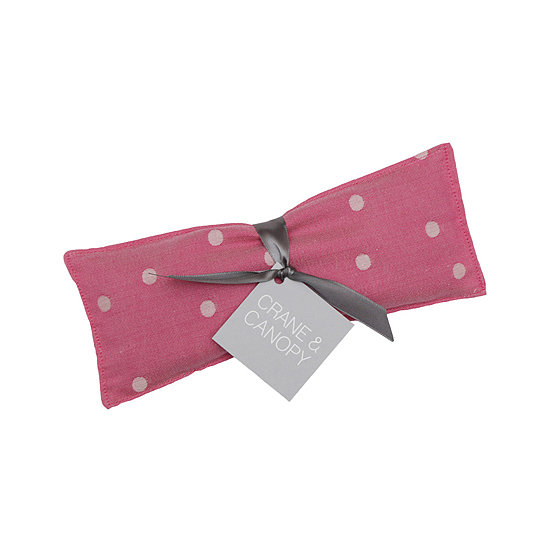 Planning a spa day soon? Purchase the Crane & Canopy Hot Pink Eye Pillow ($12) this month and 50 percent of proceeds go to Susan G. Komen For the Cure. Your bubble bath is calling . . .