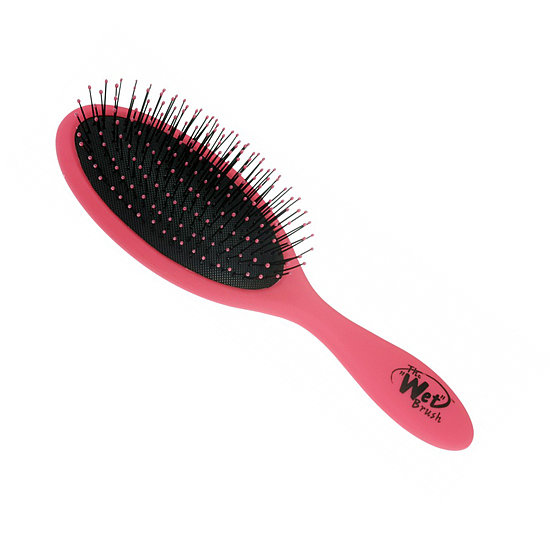 In addition to the bright pink color of the special edition BCA Wet Brush ($14), the fact that 25 percent of each sale goes toward breast cancer research programs really catches our eyes.