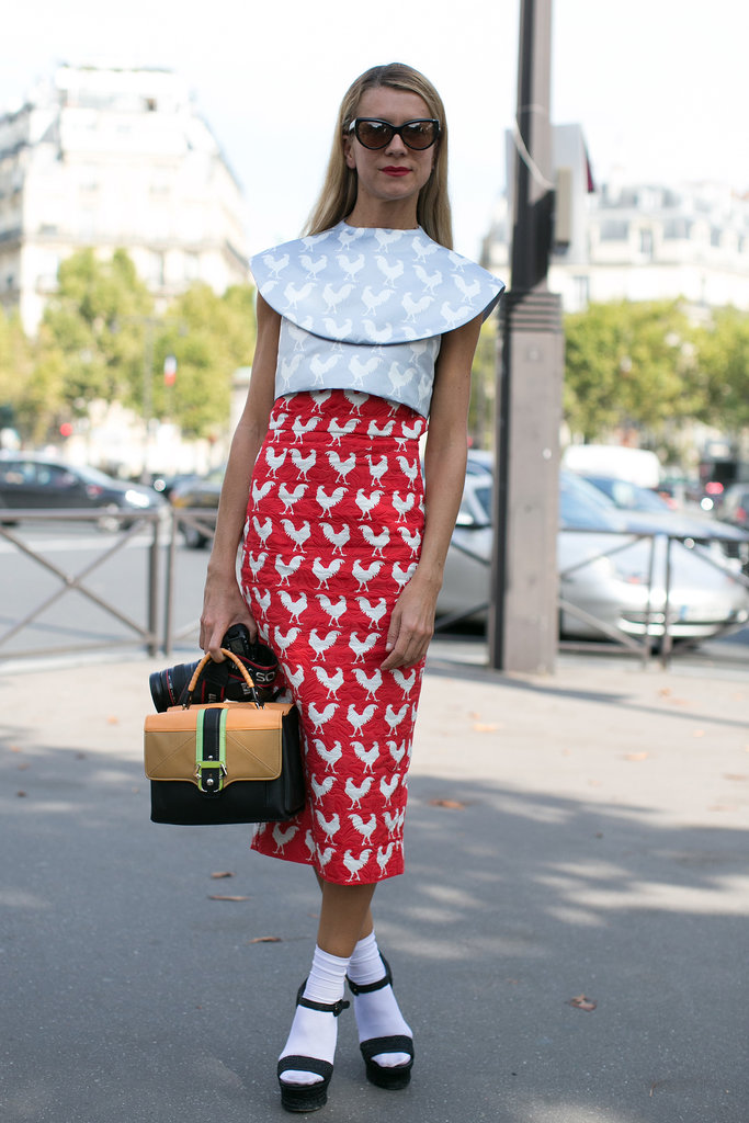 Natalie Joos has a way with prints.