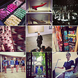 Paris Fashion Week Spring 2014 Instagram Pictures