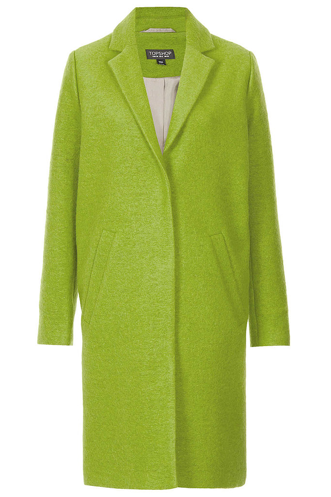 A Boyfriend Coat in a Bright Color