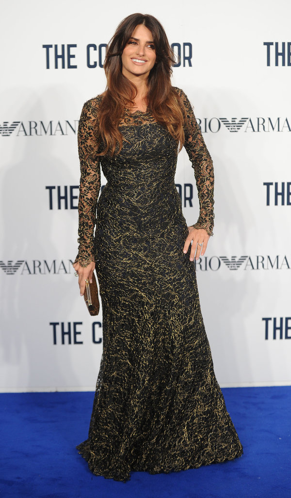 Penélope Cruz wore a Temperley London dress to the UK premiere of The Counselor.