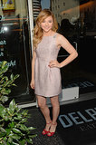 Chloë Moretz attended the Hollywood Walk of Fame ceremony for Julianne Moore.