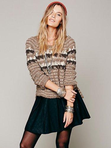 Dolce Vita Mairin Vegan Leather Skirt