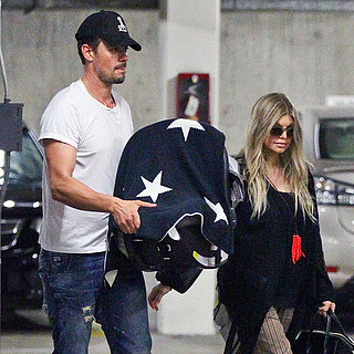 Fergie and Josh Duhamel With Baby Axl in LA