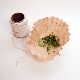 Coffee Filter Bouquet Garni