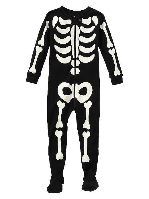 Glow-in-the-Dark Skeleton PJ's